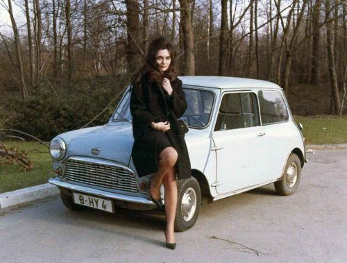 found photos of women in the 1960s