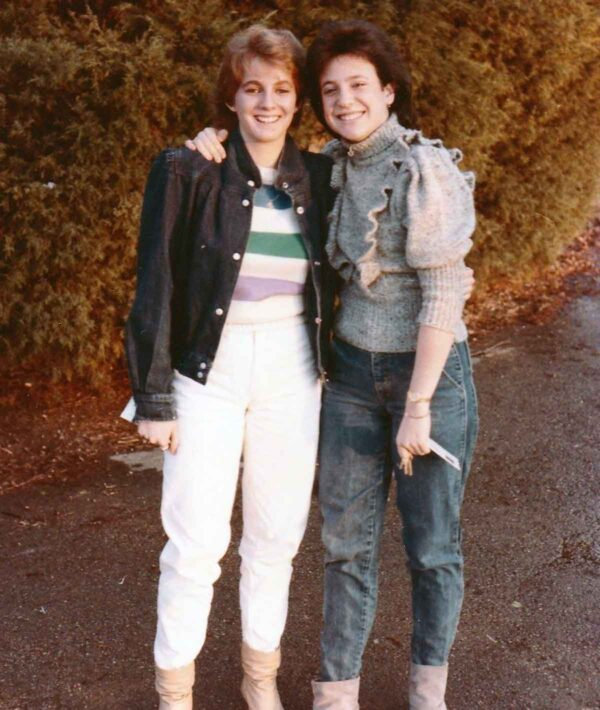1980's denim jackets and jeans