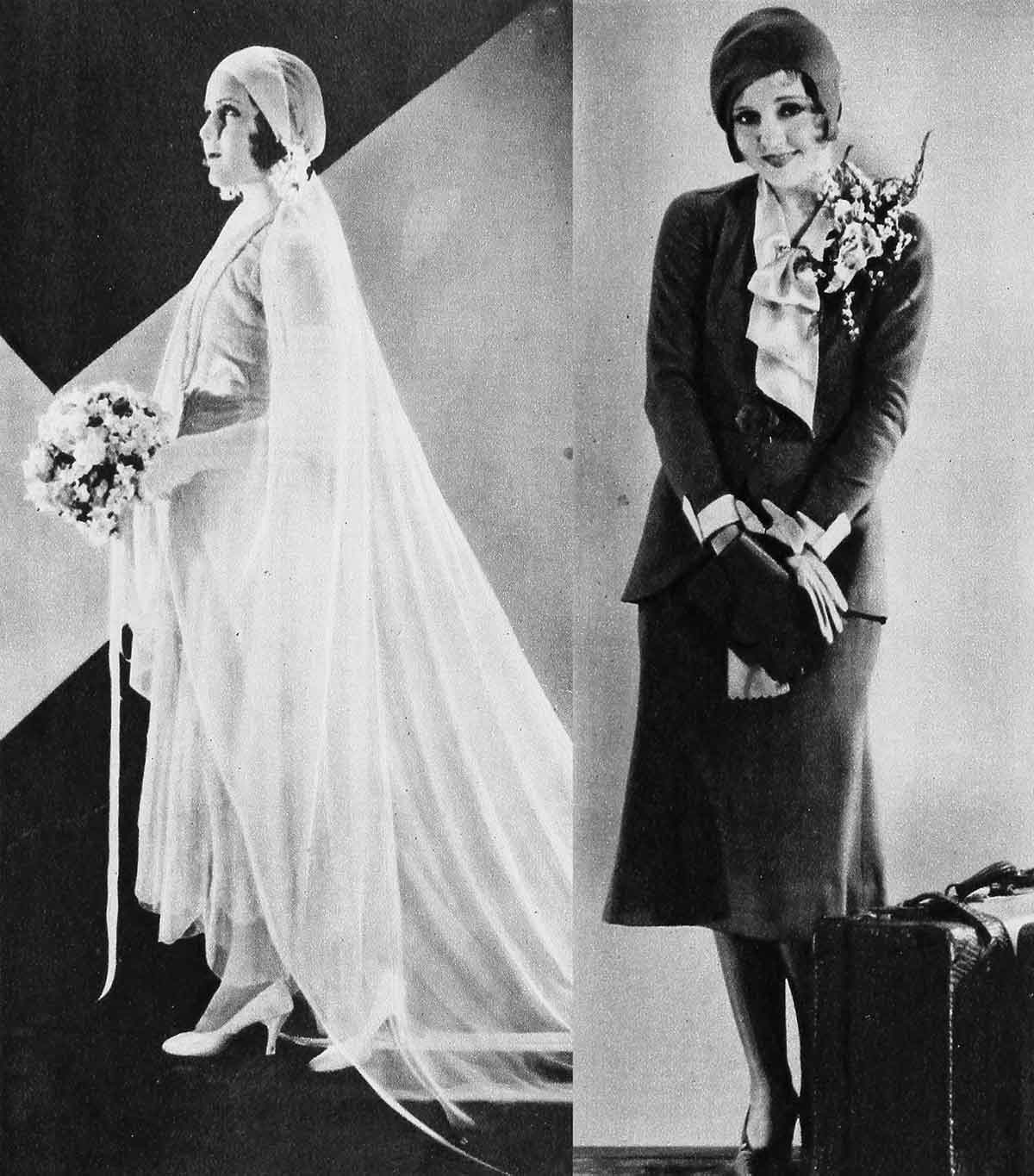1930s-Fashion---Hollywood-Bridal-Costumes---Mary-Brian