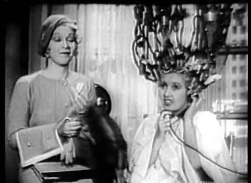 Joan-Blondell- scary perm machine - Broadway-Girls-1932