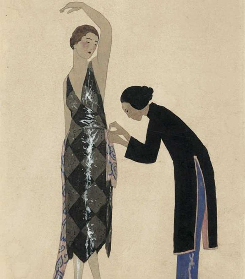 1920s-fashion-silhouette---Gazzette-du-bon-ton