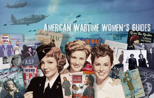 1940s American Wartime Womens Guide Pack