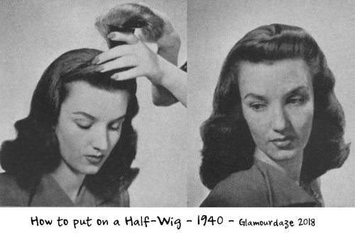 How-to-put-on-a-Half-Wig-1940