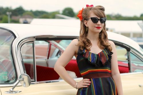 Fashion blogger Cici Marie at The Vintage Carnival