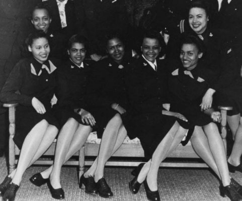 African American WAVES in 1945