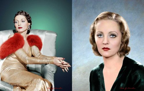 Adrienne-Ames and Tallulah Bankhead