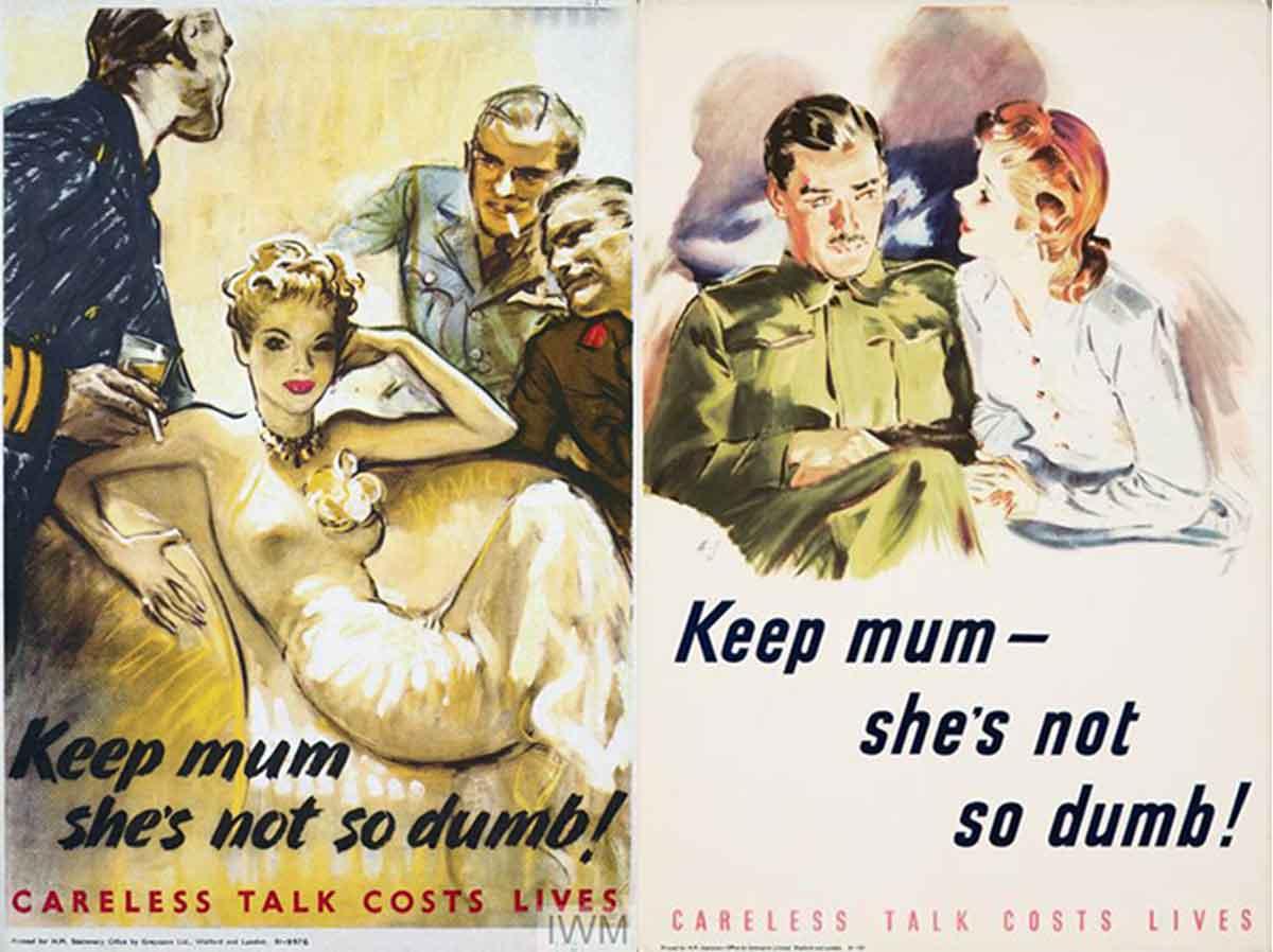 Sexist Portrayals of 1940s Wartime Women | Glamour Daze