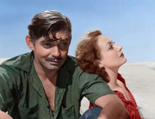 Clark Gable and Joan Crawford - Strange Cargo 1940