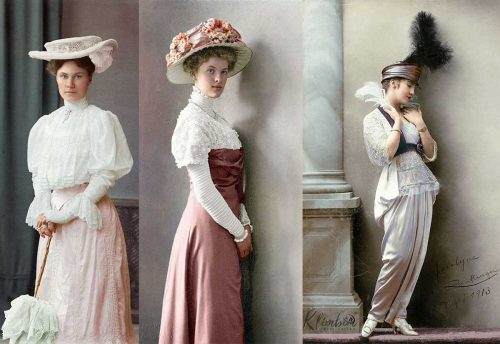 Edwardian-Fashion-in-color