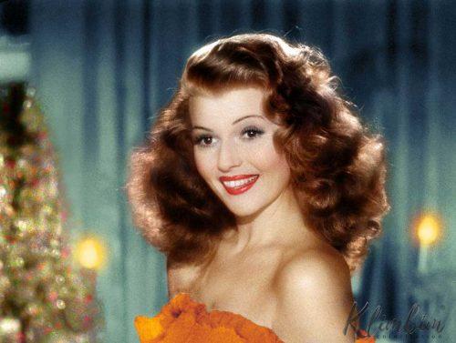 Rita Hayworth in Gilda - Color