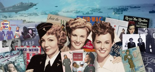 1940s American Service Womens Handbooks