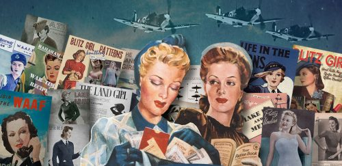 1940s British Wartime Women Books