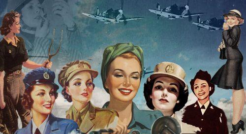 1940s war time women pack
