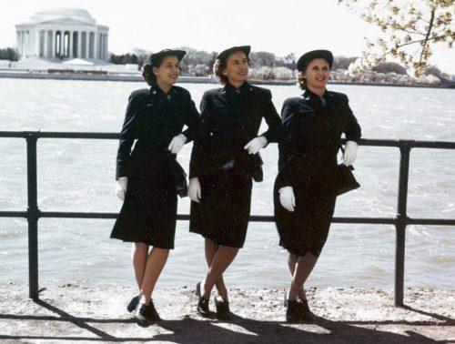 WAVES Winter uniforms