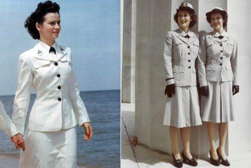Waves Amp Spars 1940s Uniform Fashion Glamourdaze