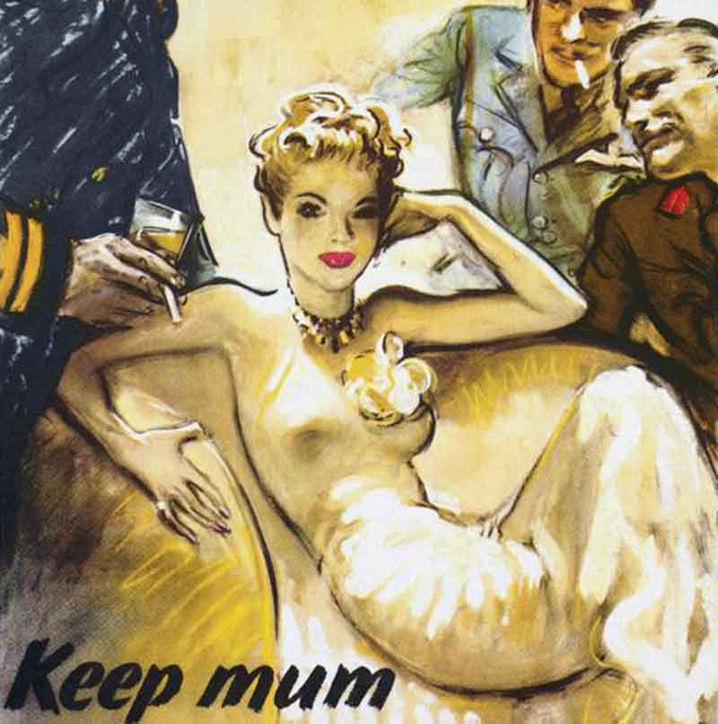 Sexist 1940s posters