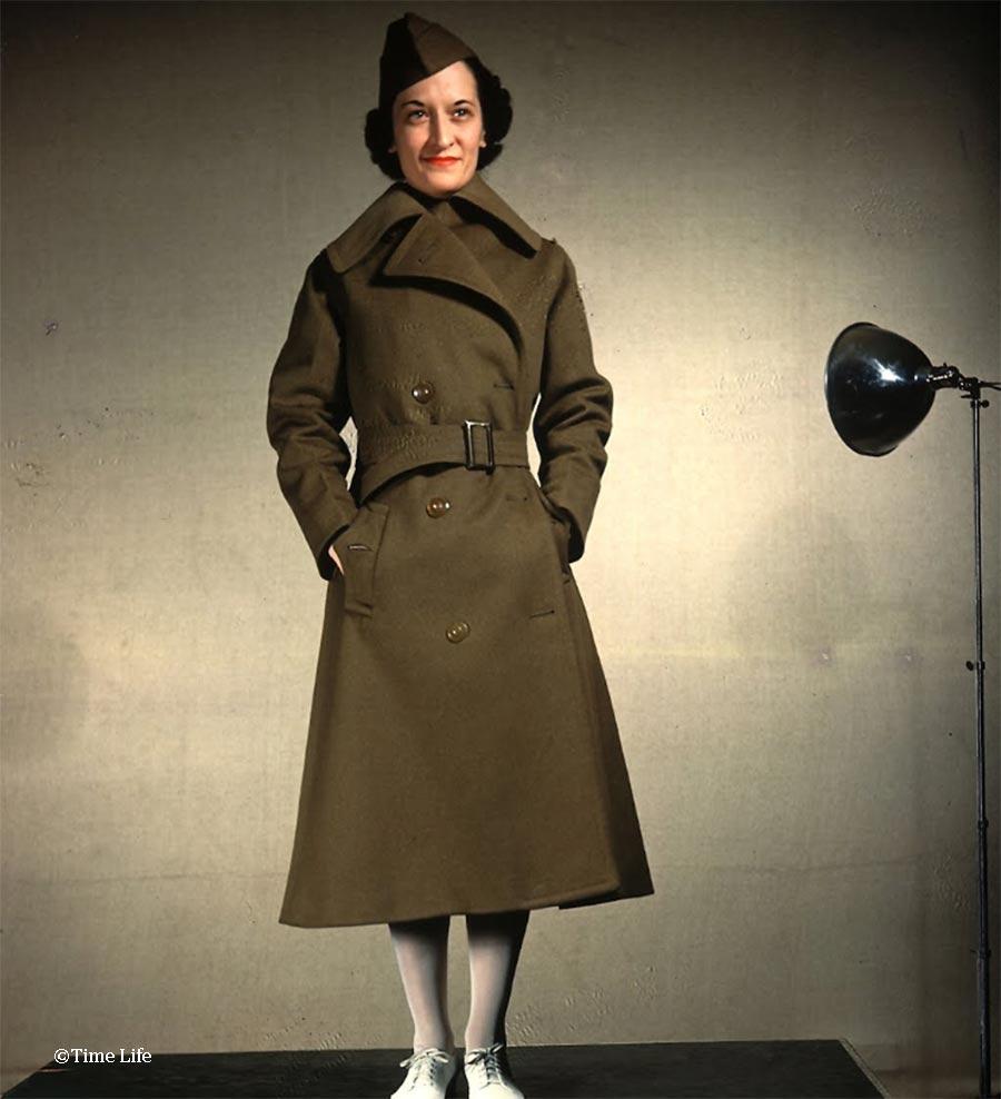 WW2 Nurse Uniform - womens-army-corps-nurse-1942