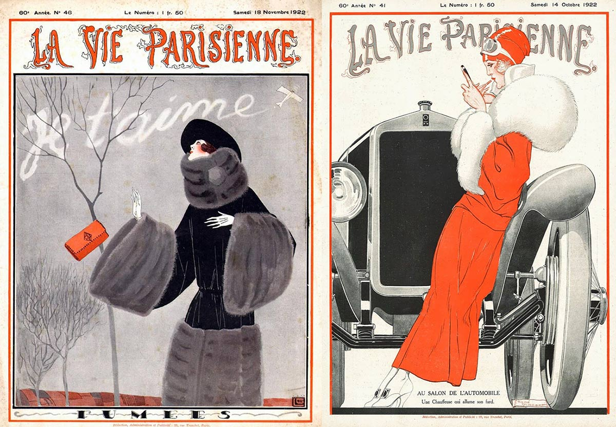 The Flappers Of La Vie Parisienne Glamour Daze