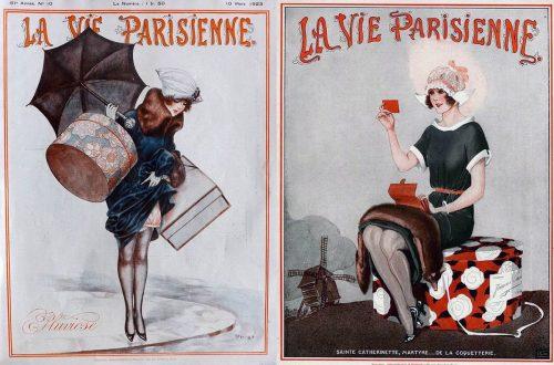 1923---Georges-Léonnec-La-Vie-Parisienne