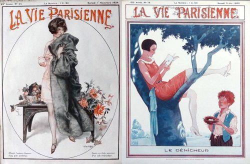 1924---Georges-Léonnec-La-Vie-Parisienne