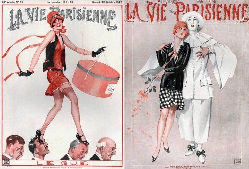 1927---Georges-Léonnec-La-Vie-Parisienne-