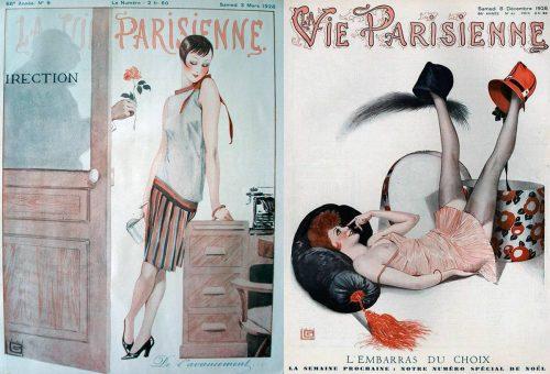 1928---Georges-Léonnec-La-Vie-Parisienne