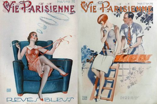 1929---Georges-Léonnec-La-Vie-Parisienne