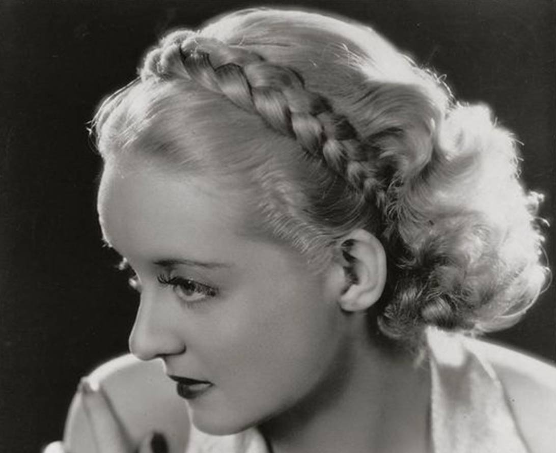 1930s Hairstyles - Detachable Braids