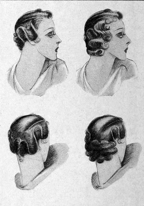 1930s-hairstyles - hair braids - Norma Shearer