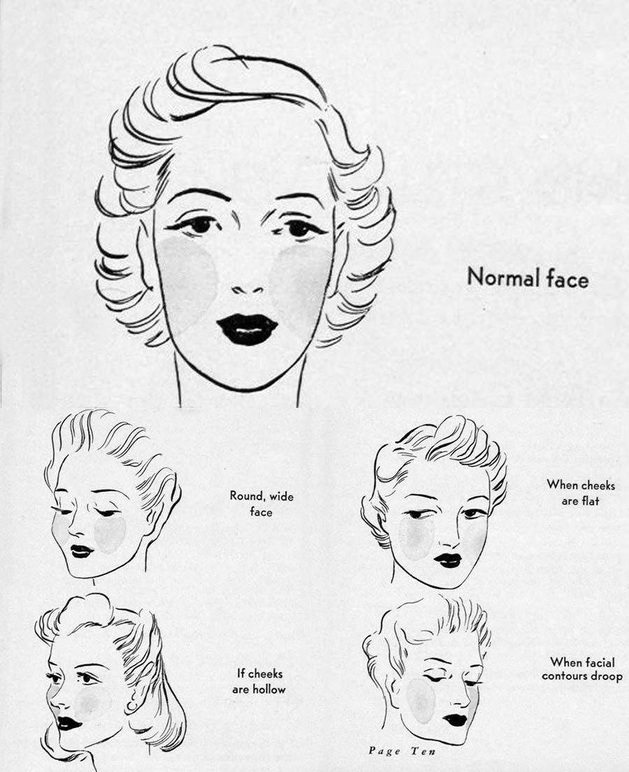 10s makeup  Glamour Daze