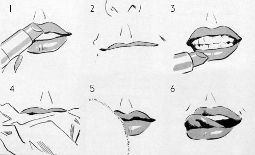 Avon-Makeup-Tips-1939 - Lipstick tips for your mouth shape