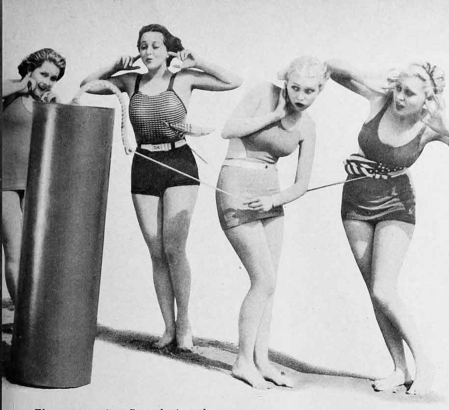 1930s Swimsuit Fashion – Hollywood 1934
