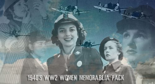 WW2 Women memorabilia pack
