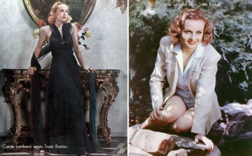 Dressing Carole Lombard by Travis Banton
