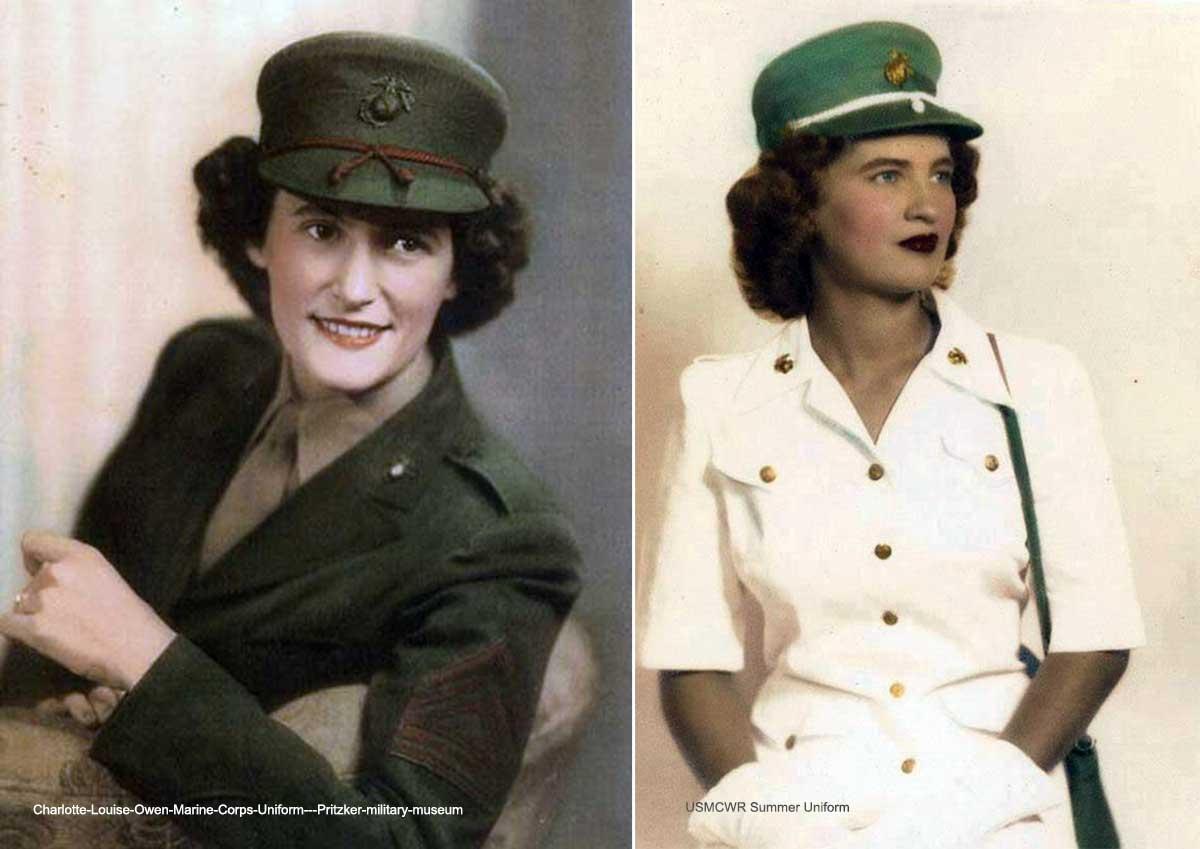 1940s Military Fashion - The Marine Corps | Glamour Daze
