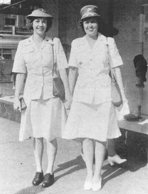 Women-Marines---summer-work-and-dress-uniforms