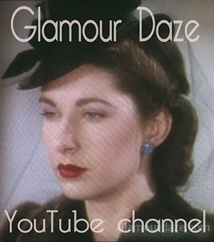 Glamourdaze Archive Vintage Fashion channel on YouTube