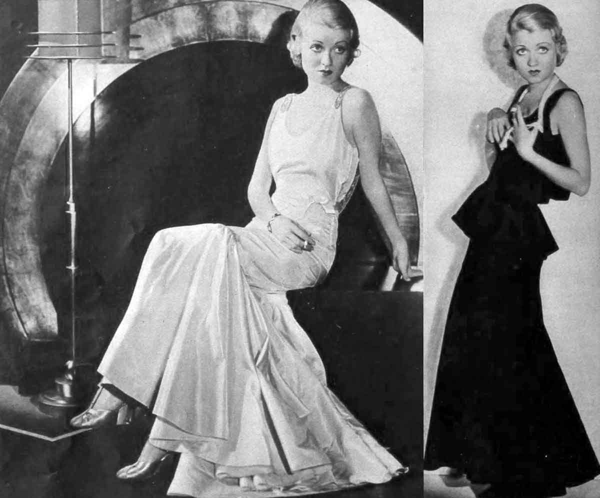 1930s-Fashion---Fall-Trends-for-1931--evening-dresses