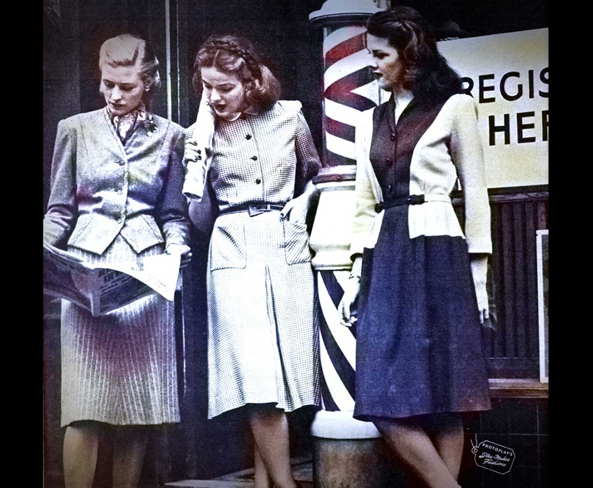 Three Smart Girls - Fall Dresses 1944