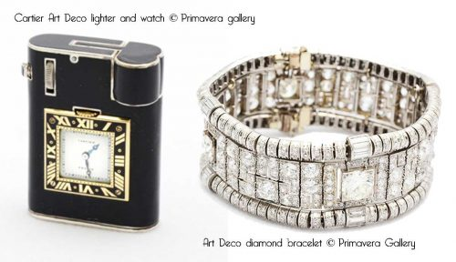 Cartier-Art-Deco-lighter-and-watch-and-bracelet---Primavera-gallery