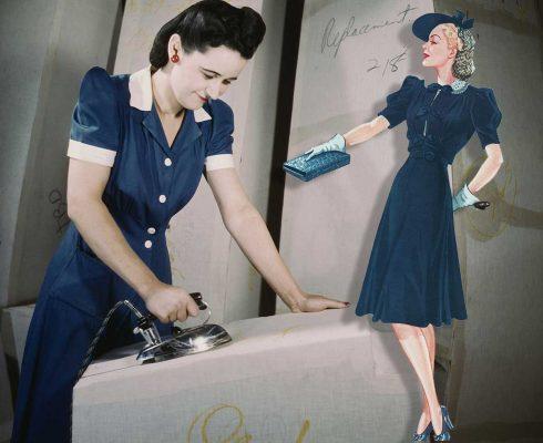 Kitty-Foyle-shirtwaist-dress-1940