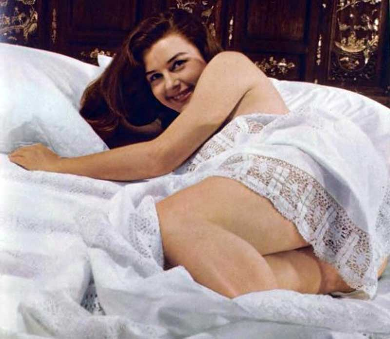 Elaine-Stewart---How-to-Look-Like-a-1950s-Pinup-Girl---bed-beauty