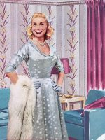 Janet-Leigh---Winter Dresses-1954