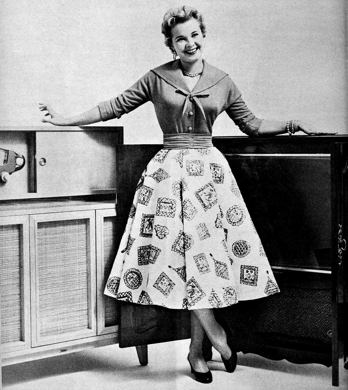 Winter Dresses 1954