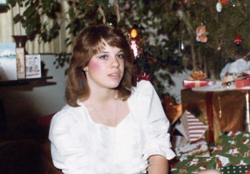 Photos of 20th Century Women at Christmas - 1970s