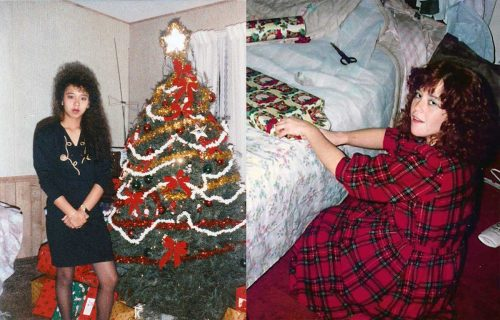 Photos-of-20th-Century-Women-at-Christmas---1980s