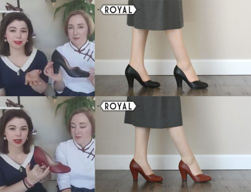 Royal Vintage 1940's women's style shoes