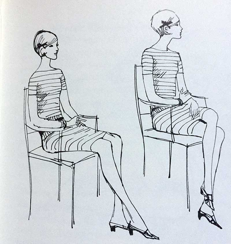 The Art of Sitting in a Feminine Posture