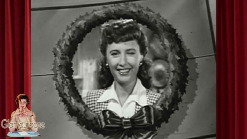Merry Christmas from Old Hollywood Stars - Barbara Stanwyck