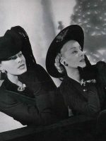 Winter Hats 1940 in Vogue
